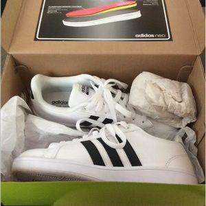 Adidas Womens Cloudfoam Advantage White Size 7.5
